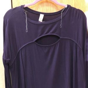 Women's purple tunic